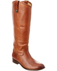 Frye - Melissa Tall Leather Boot - Lyst