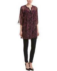 Nanette Lepore - Perfect Printed Silk Tunic - Lyst
