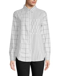 French Connection - Maras Printed Blouse - Lyst