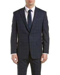 Austin Reed - Classic Fit Wool Suit With Flat Pant - Lyst