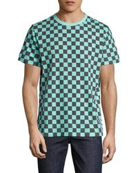 Paul Smith - Jeans Chequered Crewneck T-shirt - Lyst