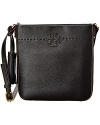 5df0f70b77a Tory Burch Marsden Swingpack Leather Crossbody Bag - Lyst