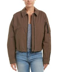 James Perse - Batwing Bomber Jacket - Lyst