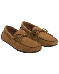 Frye - Men's Allen Tie Leather Loafer - Lyst