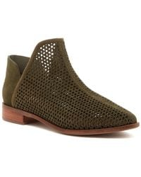 Kelsi Dagger Brooklyn - Alley Perforated Bootie - Lyst