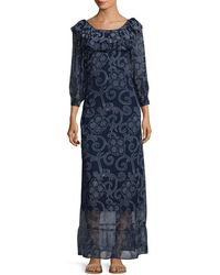Banjanan - Roar Printed Maxi Dress - Lyst