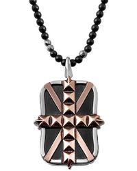 Stephen Webster - Men's Silver & Rhodium Gemstone Necklace - Lyst