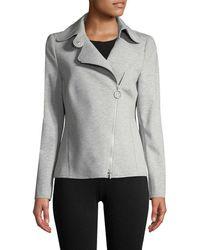 Punto - Asymmetric Zip-up Jacket - Lyst