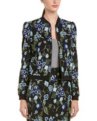 BCBGeneration - Embroidered Bomber Jacket - Lyst