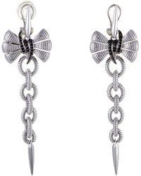 Stephen Webster - 14k & Silver 0.24 Ct. Tw. Sapphire Drop Earrings - Lyst