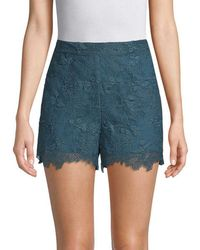 Anna Sui - Cupid's Clouds & Scallop Lace Short - Lyst