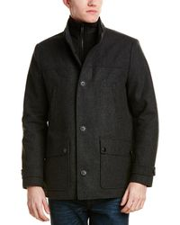 Kenneth Cole - Reaction Wool-blend Coat - Lyst