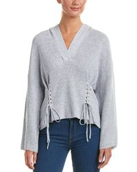 BCBGMAXAZRIA - Hooded Pullover - Lyst