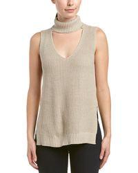 BCBGeneration - Keyhole Sweater Vest - Lyst