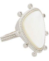 Judith Ripka - Sardinia Silver 7.10 Ct. Tw. Gemstone Ring - Lyst