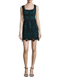 Nanette Nanette Lepore - Viva Italia Lace Flared Dress - Lyst