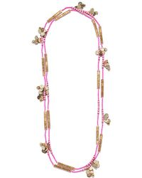 Roberta Roller Rabbit - Anouk Golden Rope 36in Necklace - Lyst