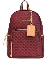 Adrienne Vittadini - Quilted Backpack With Workbook - Lyst