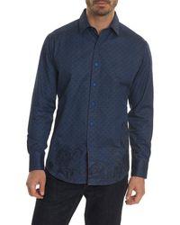 Robert Graham - Lionel Classic Fit Woven Shirt - Lyst