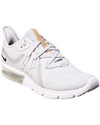 7d3cc8b13ab Lyst - Nike Air Max Sequent 3 Running Shoe in Pink
