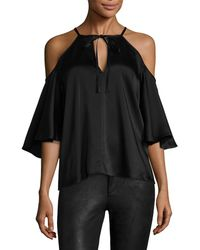Temperley London - Luna Neck-tie Blouse - Lyst