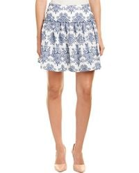 Nicholas - N / Embroidered A-line Skirt - Lyst