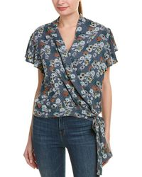 4our Dreamers - Wrap Blouse - Lyst