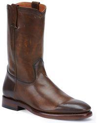 Frye - Weston Leather Boot - Lyst