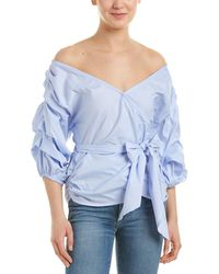 MLM Label - Salo Wrap Shirt - Lyst