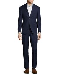 Saks Fifth Avenue - Trim Fit Textured Wool Suit - Lyst