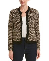 J.McLaughlin - Wool-blend Cardigan - Lyst