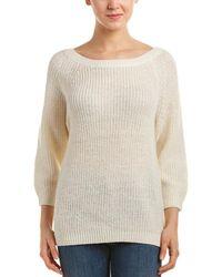 Splendid - Glitter-accent Alpaca & Wool-blend Sweater - Lyst