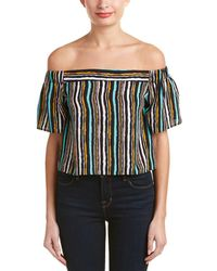 Alythea - Cold-shoulder Crop Top - Lyst