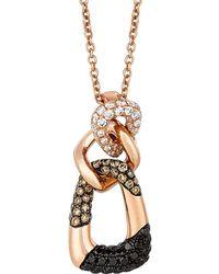 Le Vian - ® Exotics® 14k Rose Gold 0.56 Ct. Tw. Diamond Necklace - Lyst