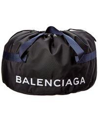 Balenciaga Wheel Bag Small Nylon Duffle - Black