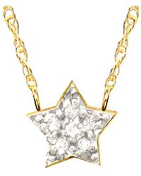 Jane Basch - Celestial Collection 14k Diamond Necklace - Lyst