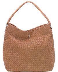 Helen Kaminski - Anoushka Leather Shoulder Bag - Lyst