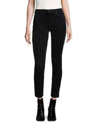 Hudson Jeans Nico Striped Cotton Jeans