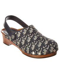 Dior Quake Slingback Leather Clog
