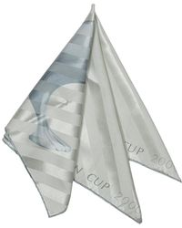 Louis Vuitton - Striped Silk-blend Scarf - Lyst