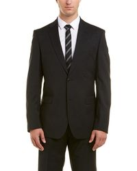 Versace - Collection Wool Suit With Flat Front Pant - Lyst