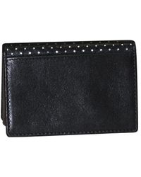 Dopp - Buxton Alpha Rfid Leather Business Card Case - Lyst
