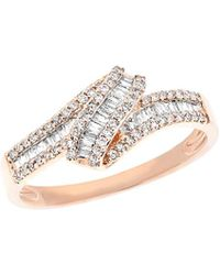 Diana M. Jewels - . Fine Jewelry 14k Rose Gold 0.37 Ct. Tw. Diamond Ring - Lyst