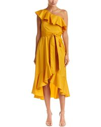 a. calin - One-shoulder Ruffle Dress - Lyst