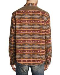 PRPS - Goods & Co. Wool-blend Sportshirt - Lyst