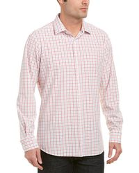 Mizzen+Main - Mizzen+main York Medium Trim Fit Woven Shirt - Lyst