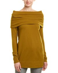 Lafayette 148 New York Off-the-shoulder Wool Sweater