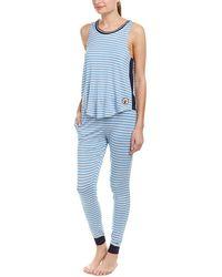Kensie - 2pc Striped Pyjama Pant Set - Lyst