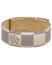 Louis Vuitton - Damier Azur Canvas Snapit Bracelet - Lyst