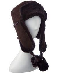 Surell - Brown Trooper Hat - Lyst